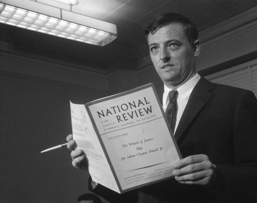 William F. Buckley Holding Book