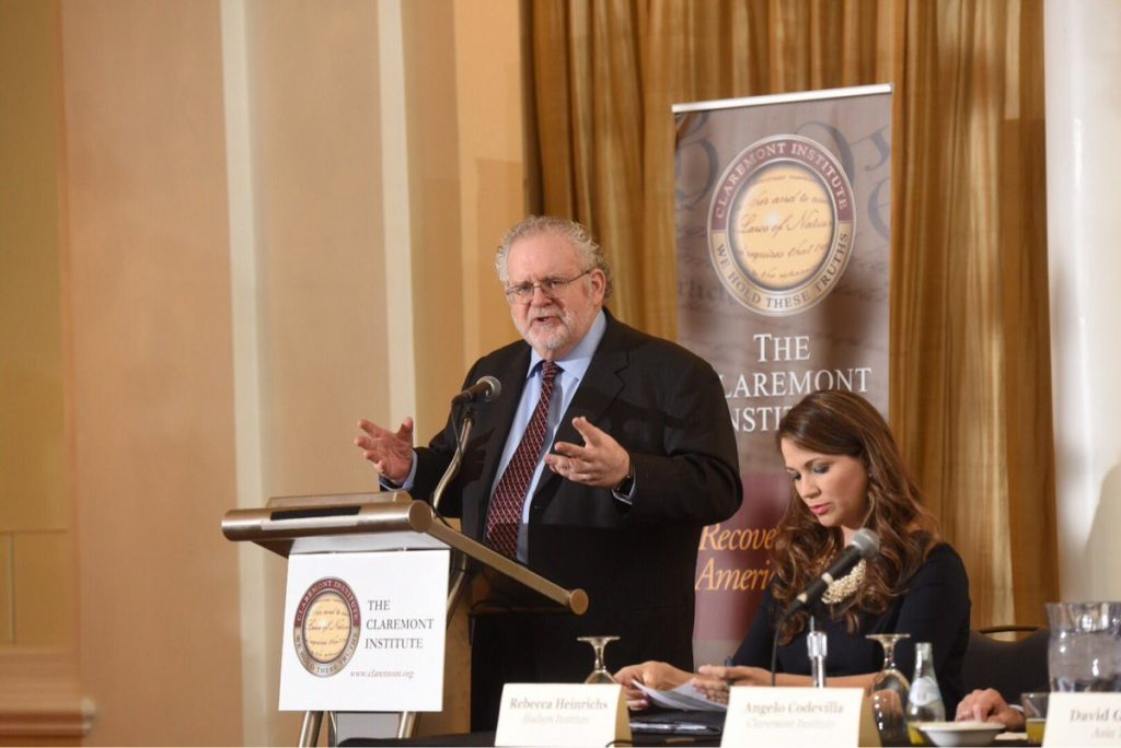 "Walter Russell Mead speaks at the Claremont Institute's ""Conservatism in the Trump Era"" Symposium."