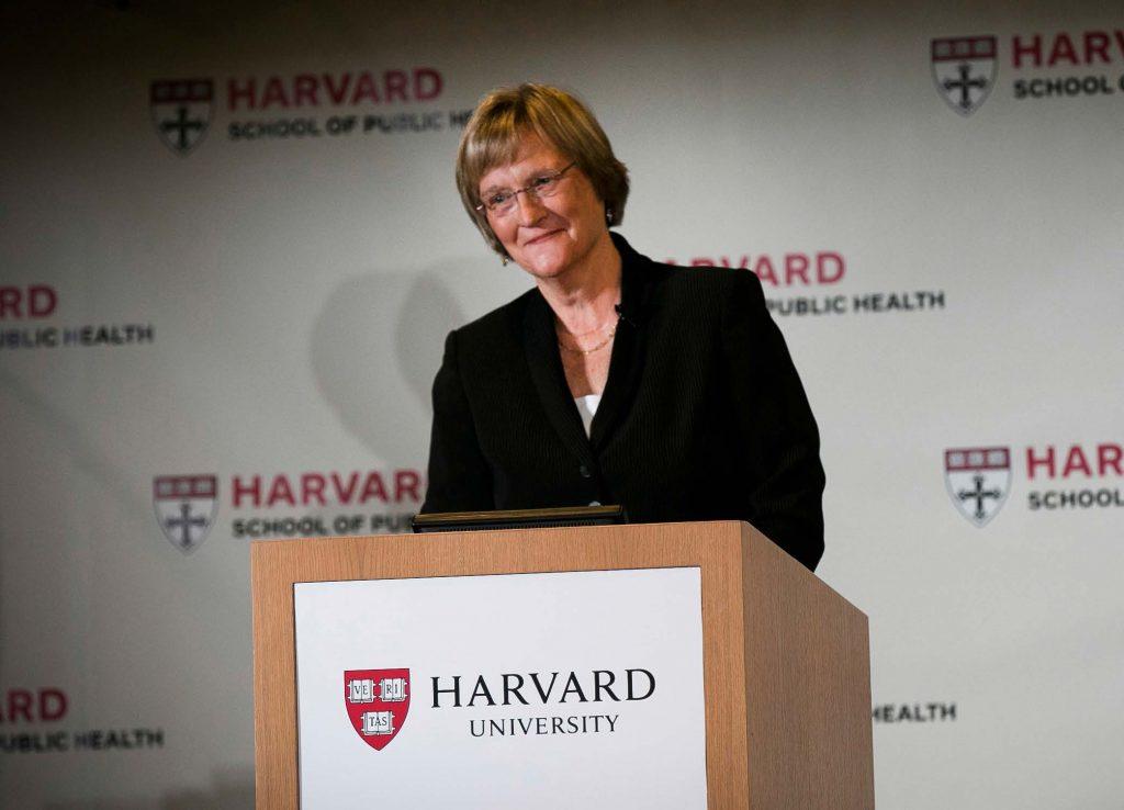 Harvard President Drew Faust