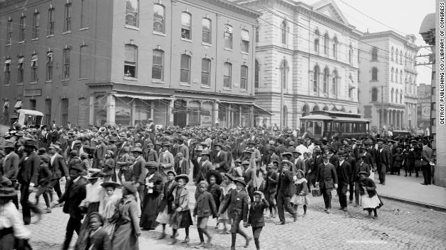 Celebrating Emancipation Day, Richmond, VA 1905.