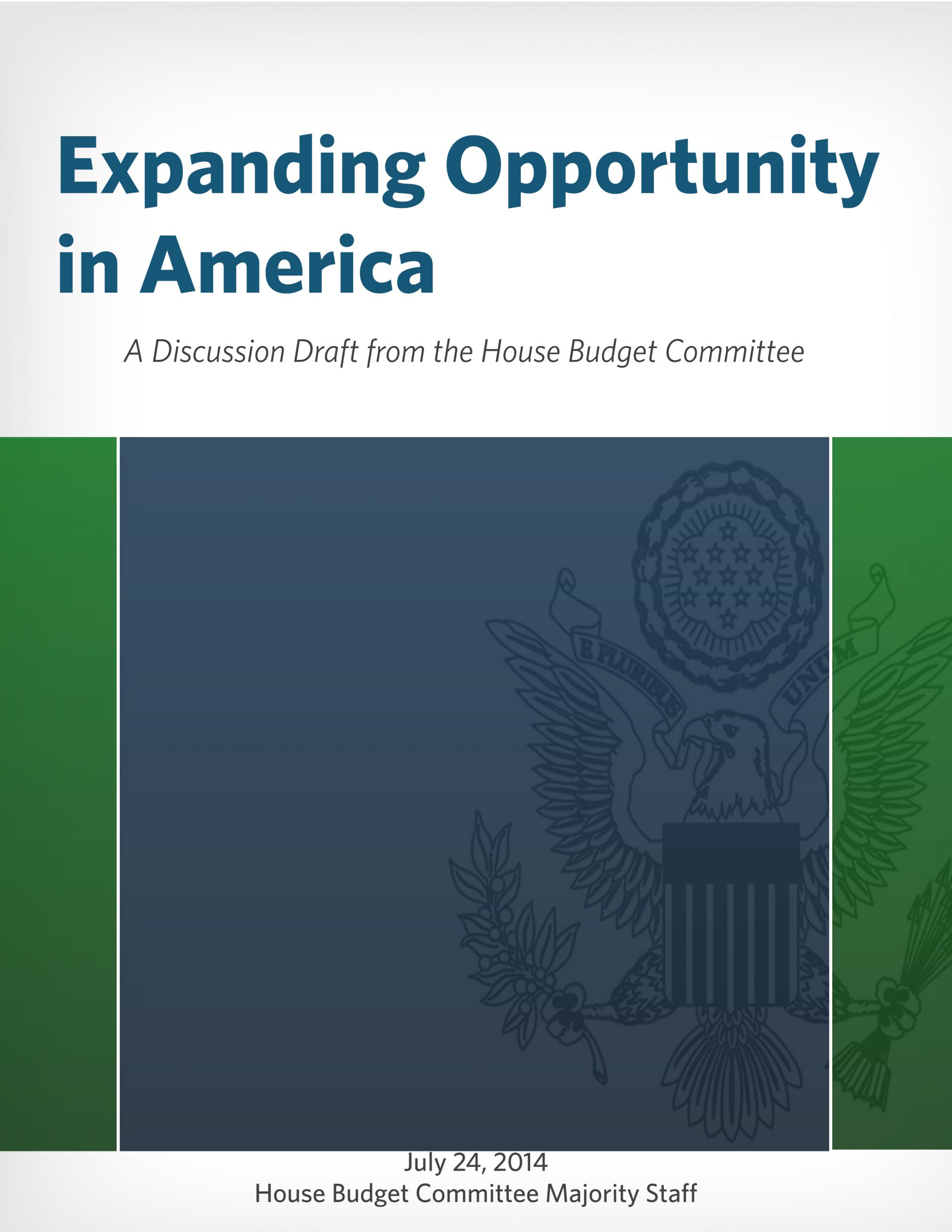Expanding Opportunity Cover