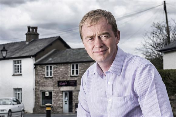 Tim Farron, former leader of UK's Liberal Democratic Party