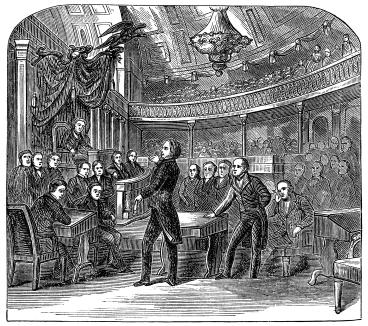 """The United States Senate"" by John S. C. Abbott in 1866."