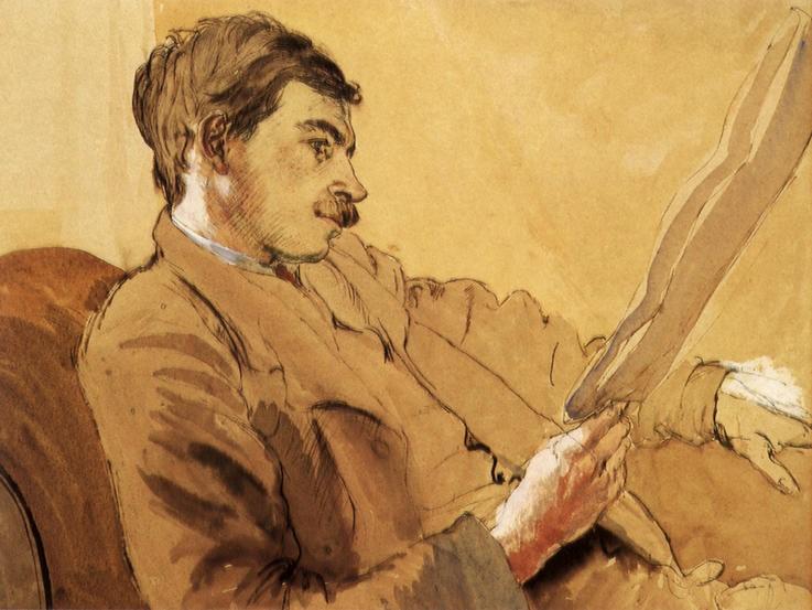 John Maynard Keynes. Image shot 1908. Exact date unknown.