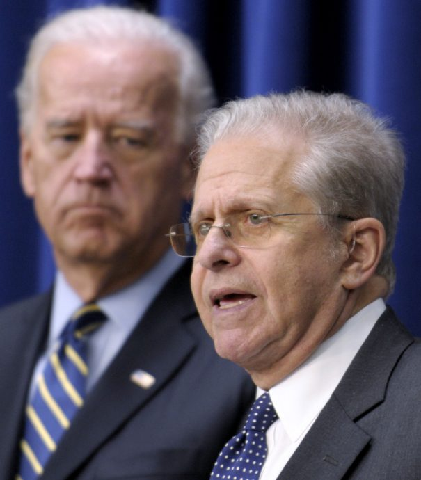 Joe Biden, Laurence Tribe
