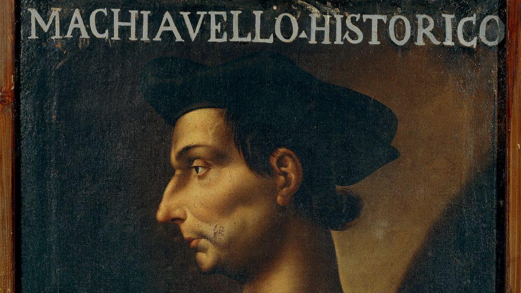 A portrait of Italian philosopher, writer and politician Niccolo Machiavelli (Florence, 1469-1527) by Antonio Maria Crespi.