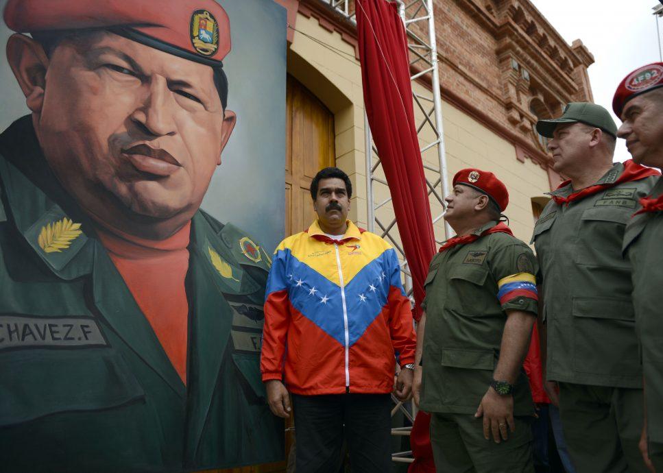 FILES-VENEZUELA-CHAVEZ-DEATH-BARRACKS
