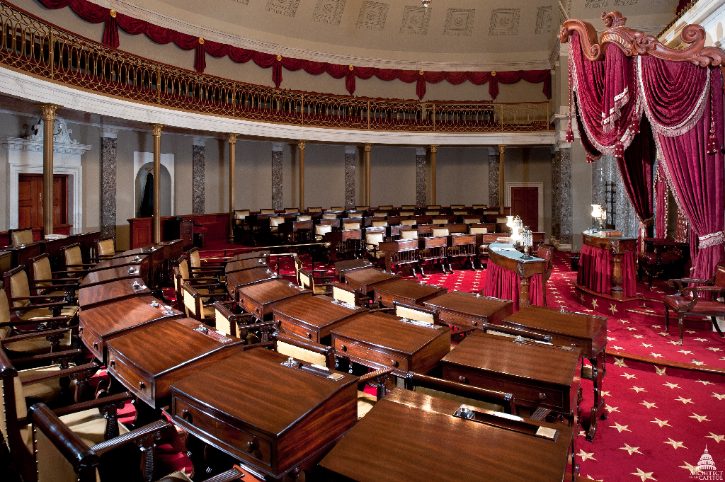 old senate chamber two