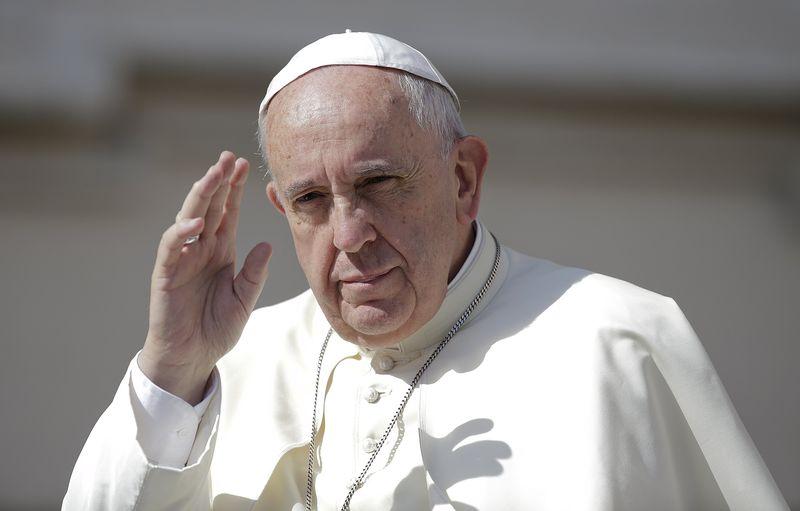 """Papa pide """"actuar ahora"""" para salvar el planeta y evitar calentamiento global"""