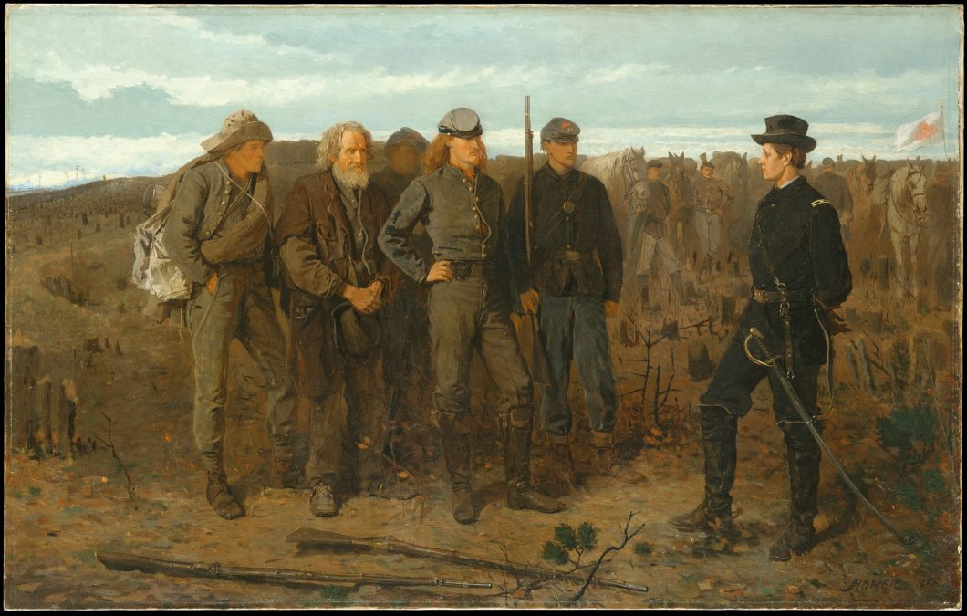 prisoners from the front – winslow homer