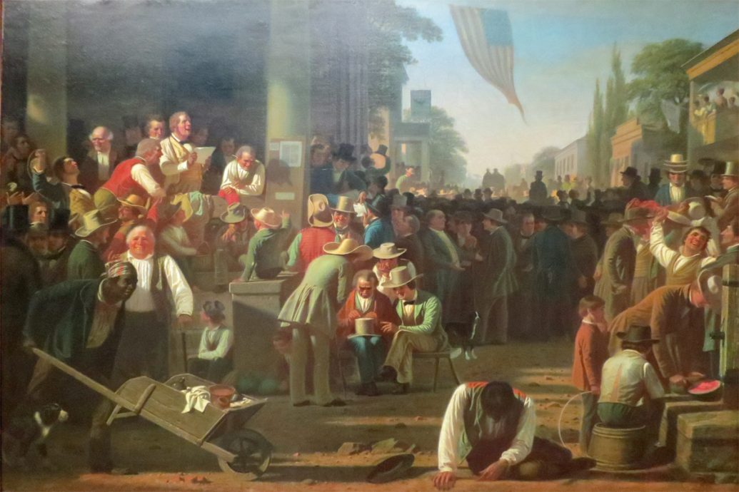 the-verdict-of-the-people-george-caleb-bingham-1854-55