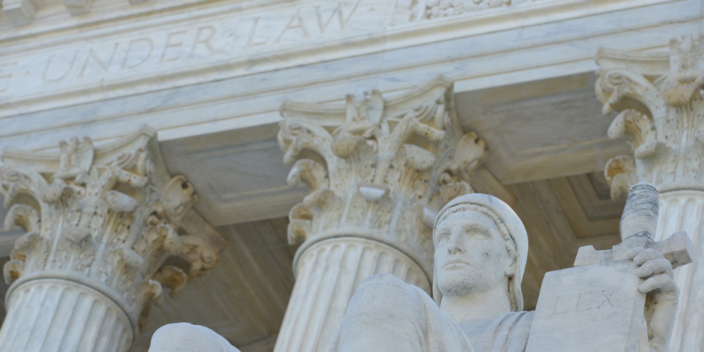 Close up of US Supreme Court – Orhan Cam
