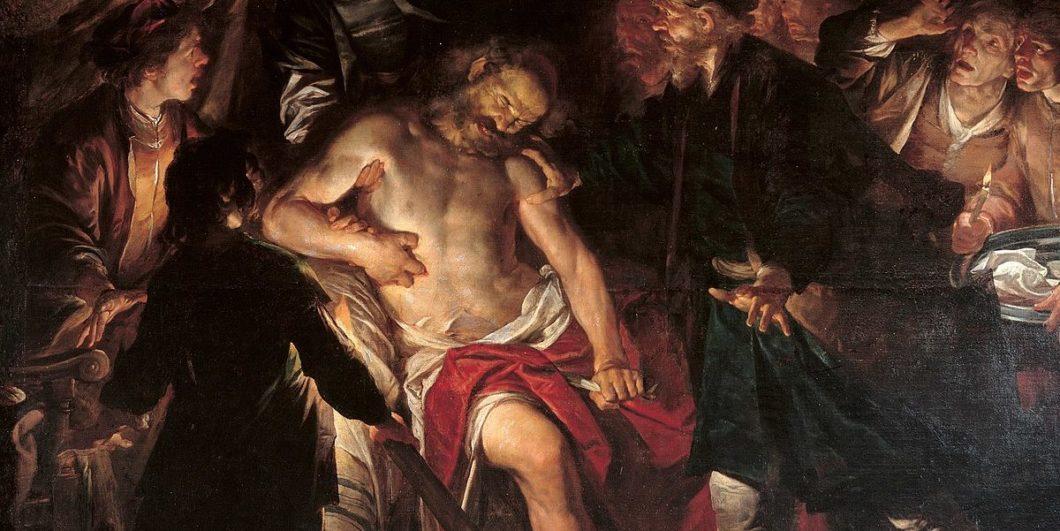 Gioacchino_Assereto Death_of_Cato