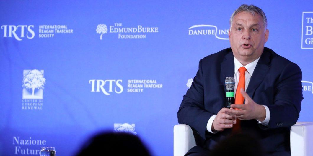 Orban at NCC Rome