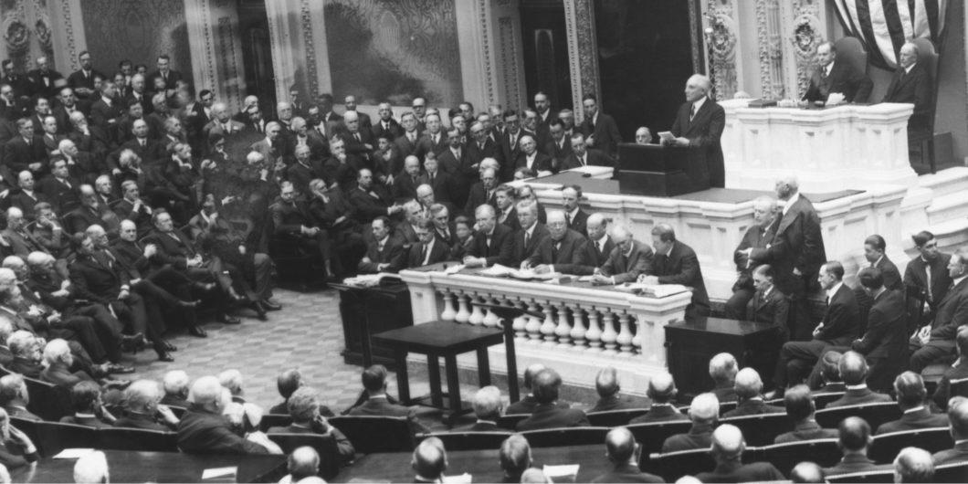 Warren Harding Joint Session