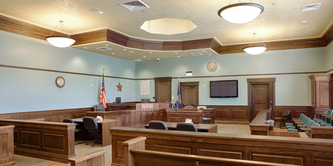 Empt y Courtroom
