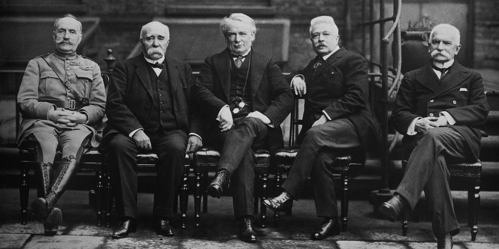 Versailles Treaty Signers
