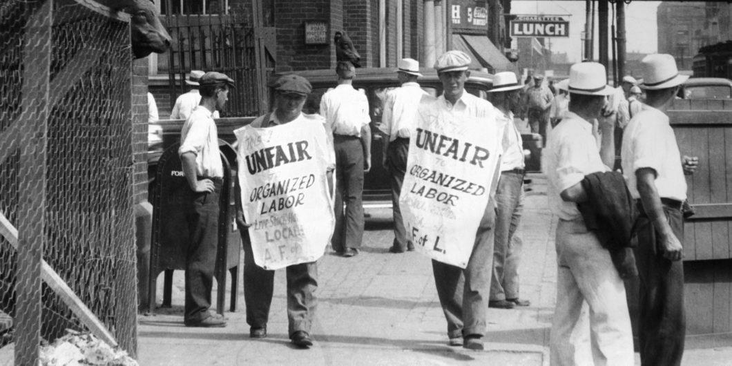 stock handlers labor union strike
