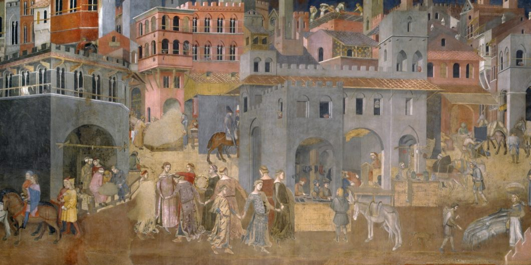 Ambrogio Lorenzetti Effect of Good Government in the city