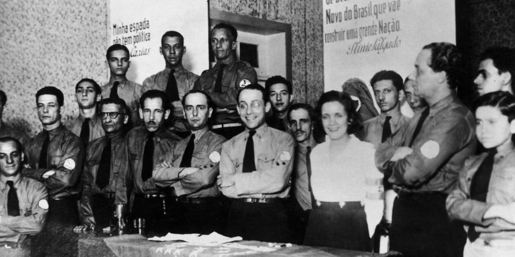 Fascist Group Of Brazilian Integralism In 1934