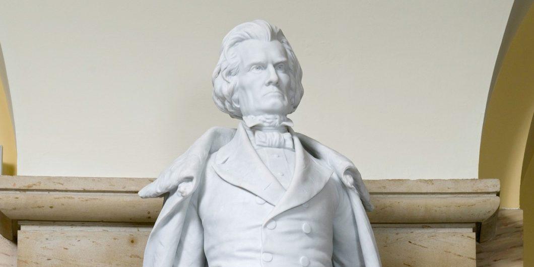 Calhoun statue