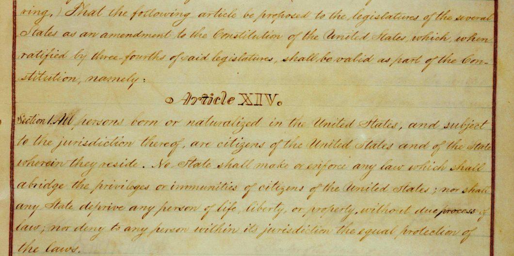 Draft Copy of the 14th Amendment Edited