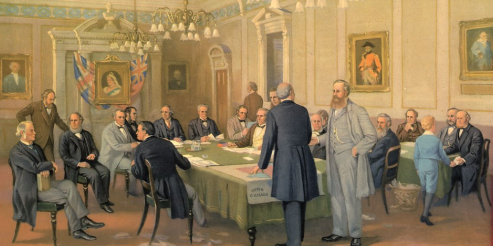 Fathers of the Confederation in London