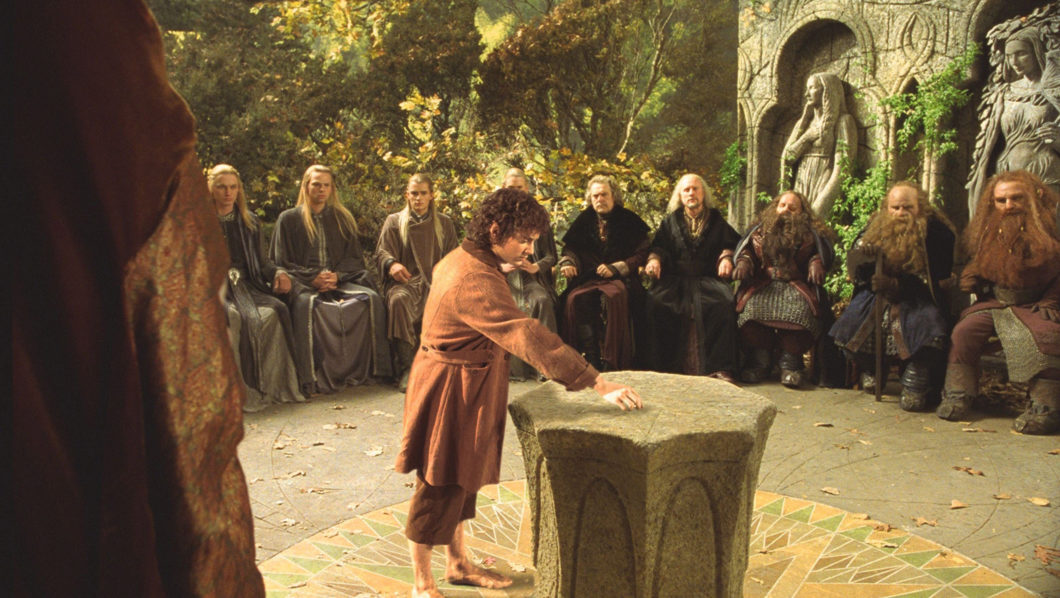 The Lord of the Rings : The Fellowship of the Ring. Image shot 2001. Exact date unknown.