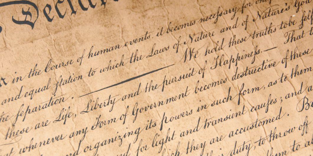 Declaration Close Up