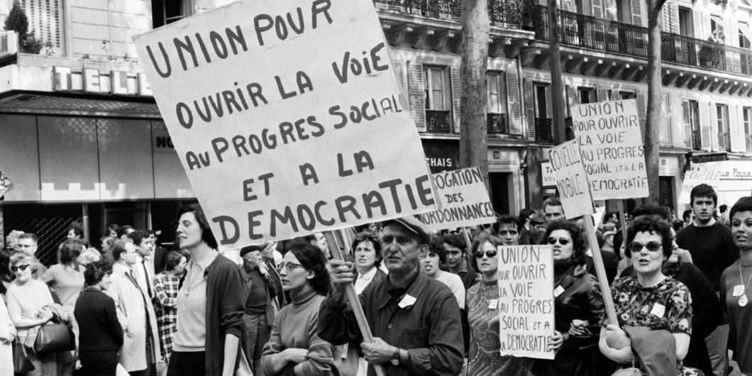 May 68 Paris Protest