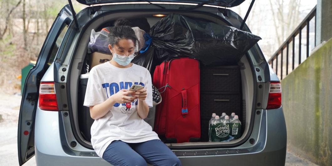 Packing up Dorm at UConn