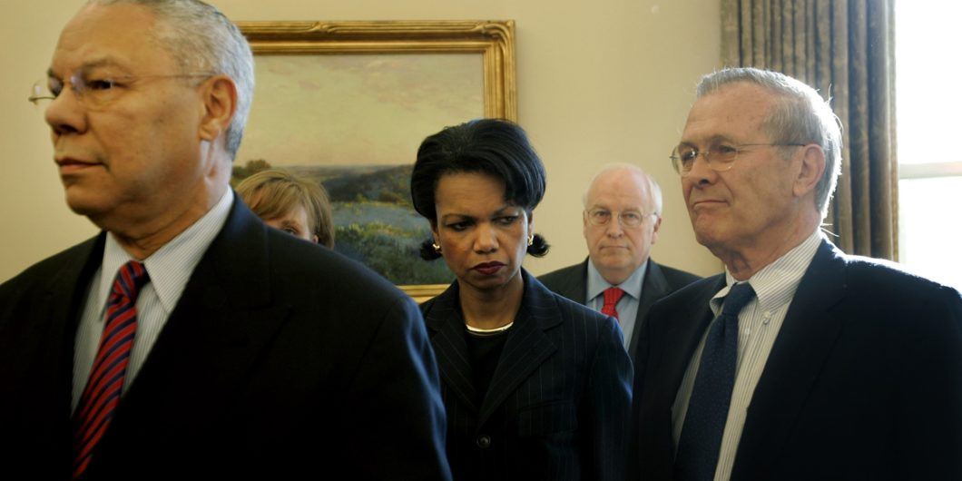 Powell Rice Cheney Rumsfeld