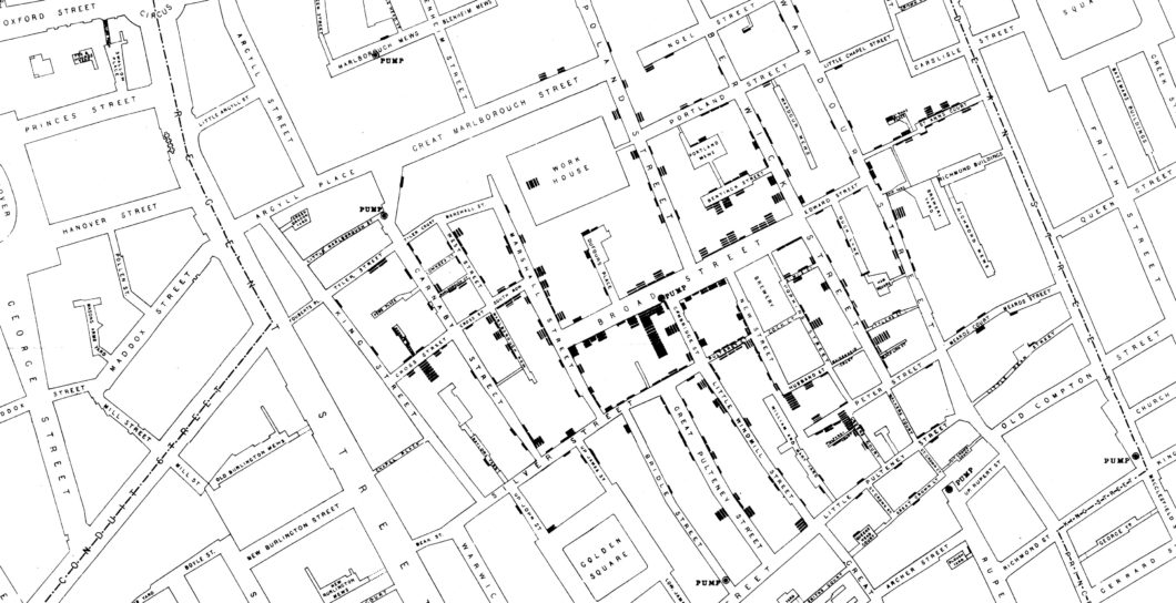 Snow London Cholera Map