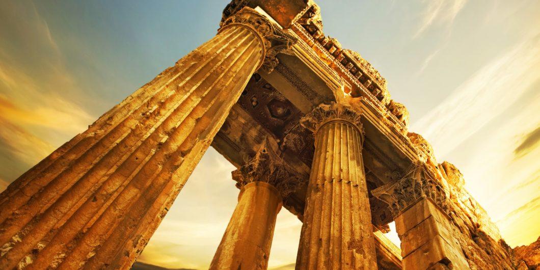 Roman Ruins Baalbeck Lebanon