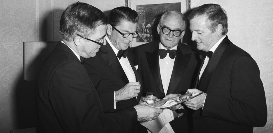 Buckleys, Reagan, and Goldwater