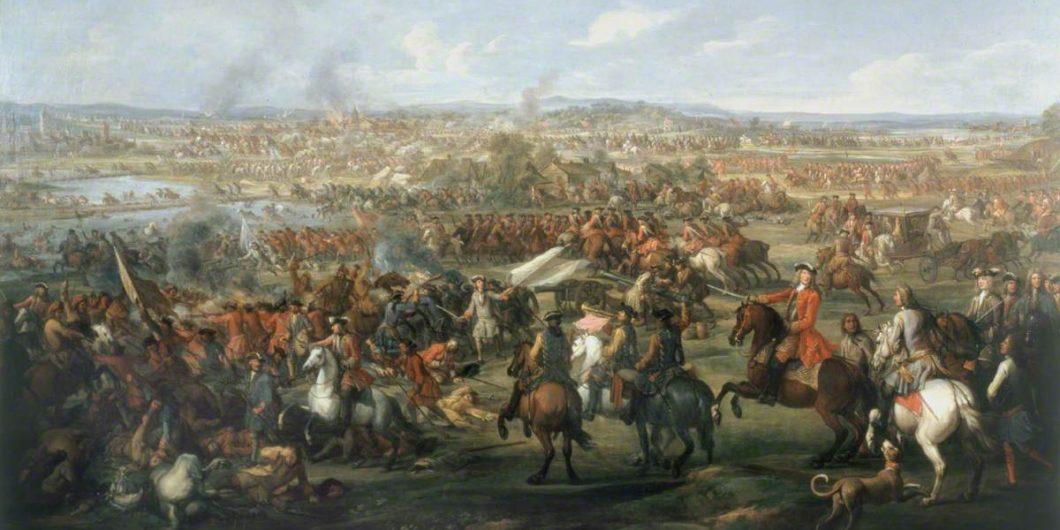 Wootton, John, c.1682-1764; The Battle of Blenheim, 13 August 1704