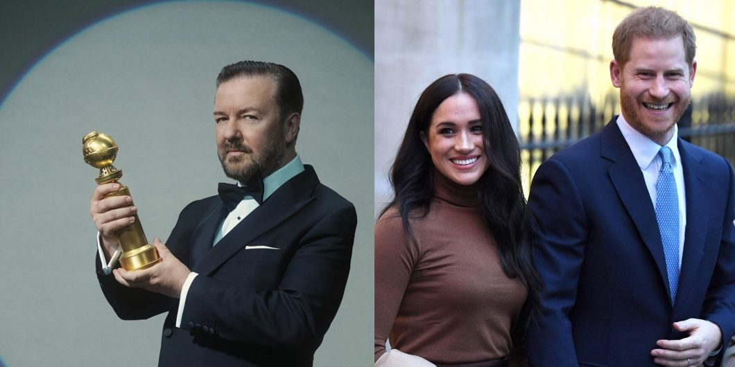 Gervais Meghan and Harry