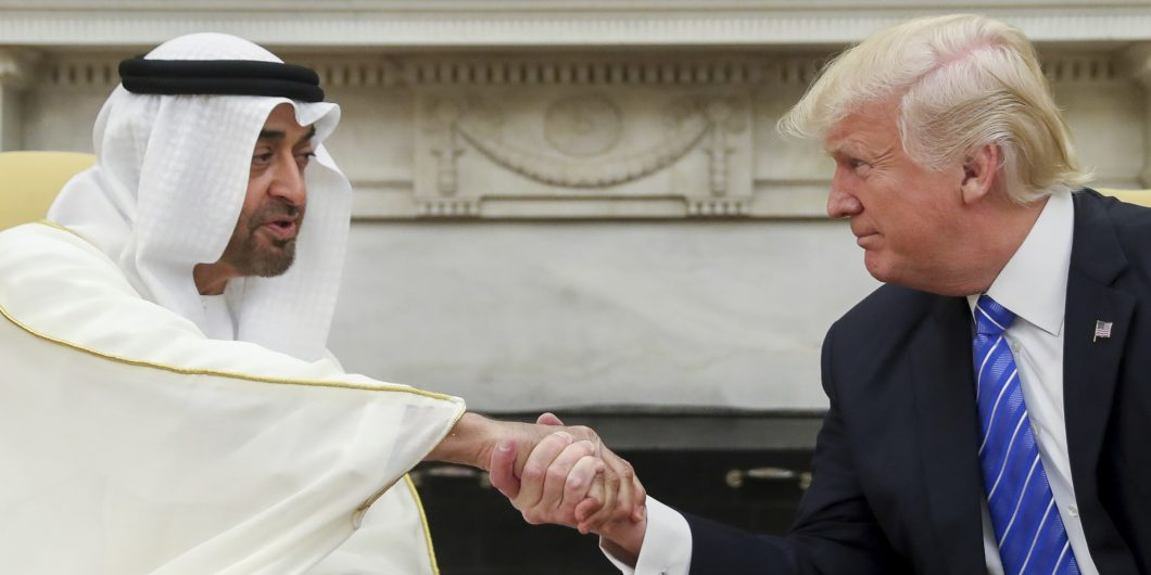 Trump and MBZ