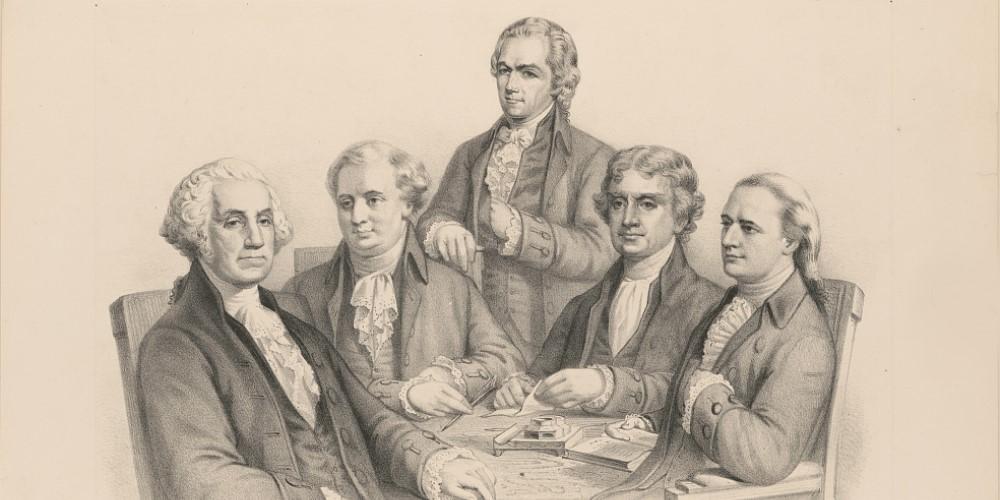 Washington and his Cabinet