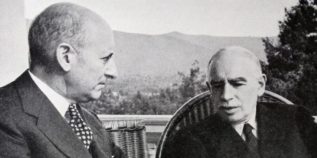 Keynes and Henry Morgenthau