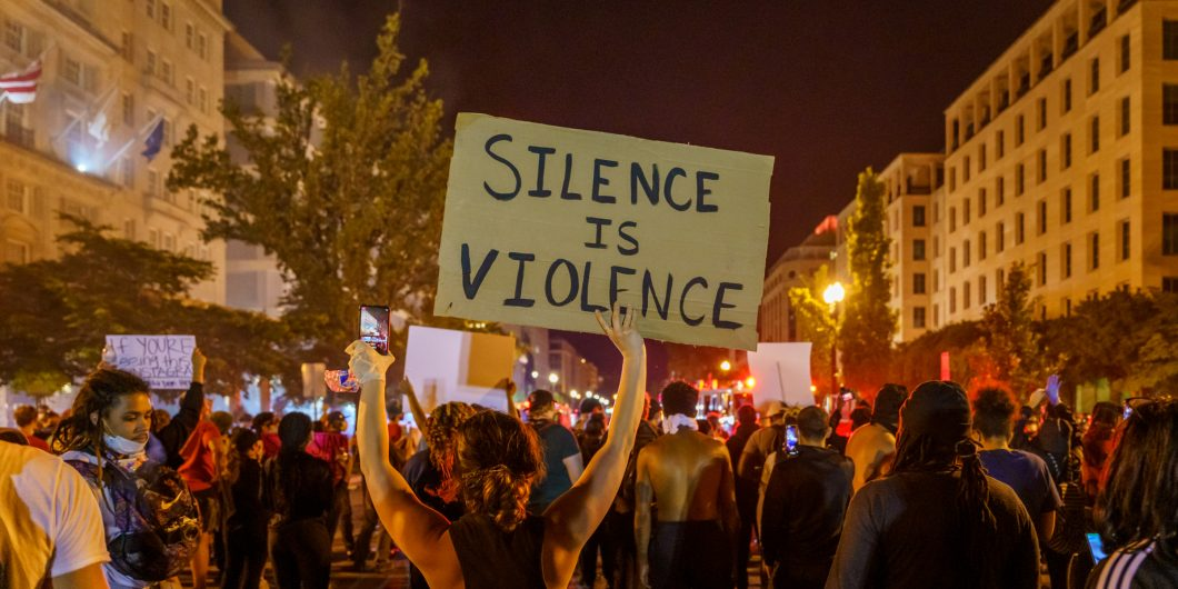Silence is Violence Protest
