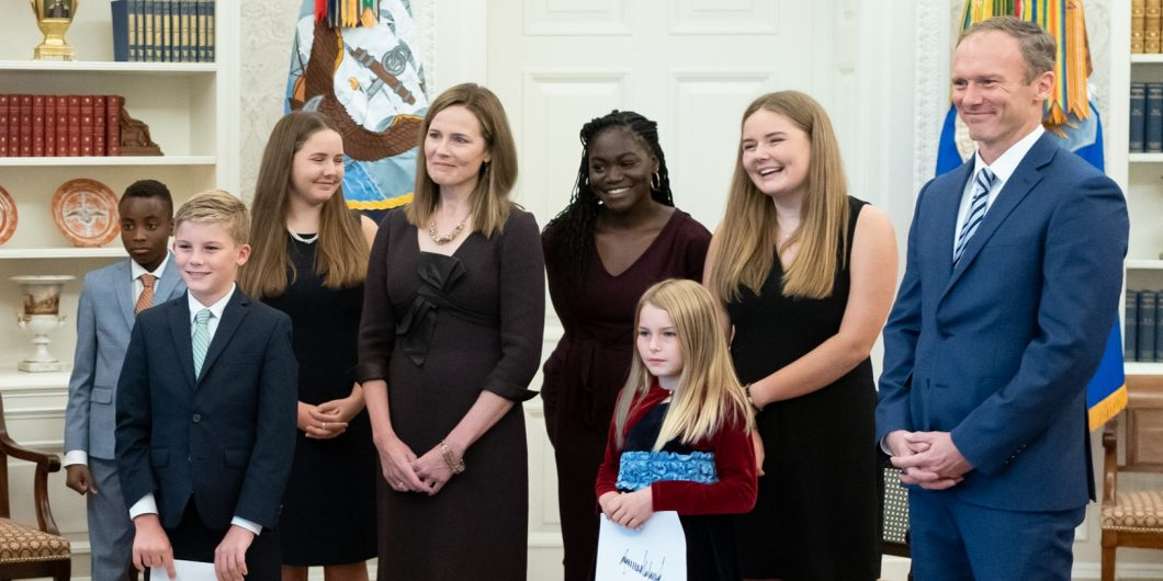 Amy Barrett Family