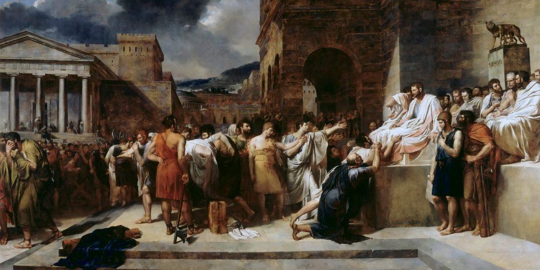 Lethiere Brutus Condemns
