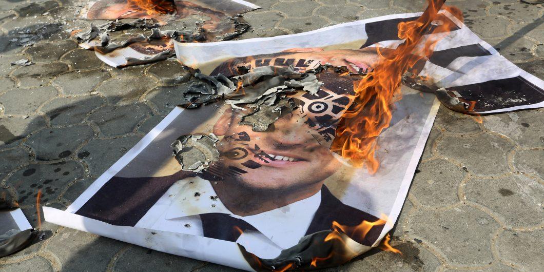 Macron Burns
