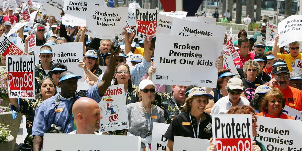 NEA Protest