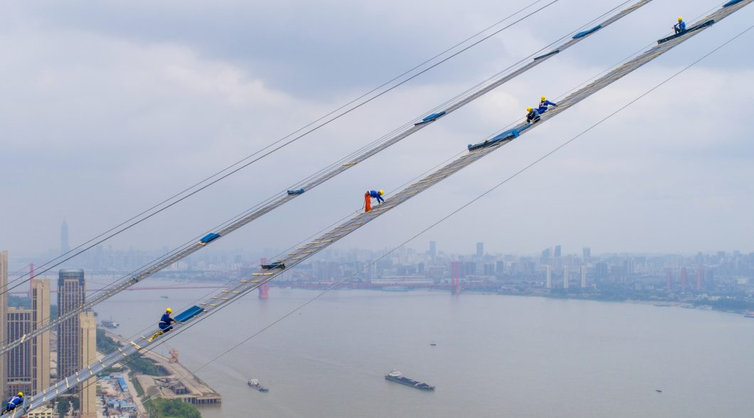 TOPSHOT-CHINA-ECONOMY-CONSTRUCTION
