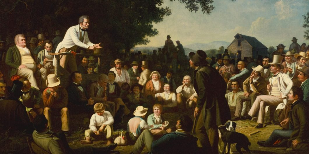 George_Caleb_Bingham_-_Stump_Speaking_-_43-2001_-_Saint_Louis_Art_Museum