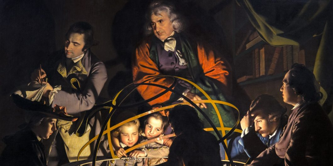 Joseph Wright, A Philosopher Lecturing on the Orrery