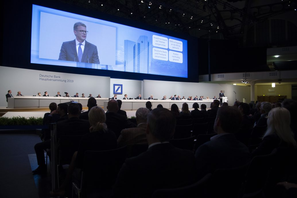 Annual General Meeting Deutsche Bank.