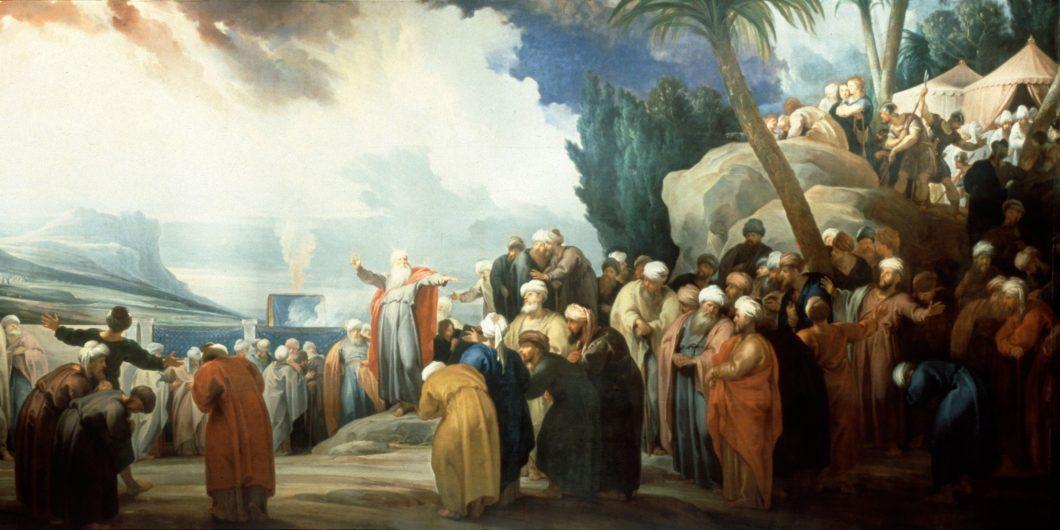 Jacob_de_Wit Moses Elects Council of Seventy Elders